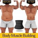 Men Waist Trainer Slimming Body Shaper Fitness Belt Weight Loss Fat Burning