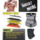 Men Waist Trainer Corsets Fitness Trimmer Belt Slimming Body Shaper