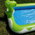 """Inflatable Sprinkler Pool for Kids Large 68"""", 3 in 1 Inflatable"""