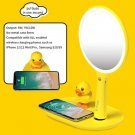 Makeup Mirror Vanity Mirror with Wireless Charger for Phone