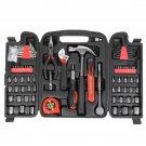 186pc Tool Set Black & Red