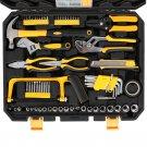 198pc Tool Set Black & Yellow