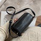 Versatile One Shoulder Cylinder Messenger Bag