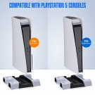 PS5 Accessories Stand with Cooling Fan and Dual Controller