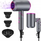 Hair Dryer, 1900W Blow Dryer with Diffuser, Ionic Hair Dryer