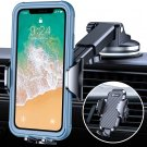 Car Phone Holder Easy Clamp 5.0 3-in-1 Long Arm Phone Mount for Car Dashboard