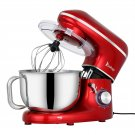 Chef Machine 5.5L 660W Mixing Pot with Handle Red Spray Paint