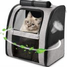 Cat Backpack Carrier, Large Pet Backpack Carrier for Cats Dogs Puppies