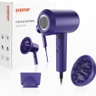 Hair Dryer with Diffuser, Blow Dryer 1800W Ionic Hairdryer Professional