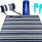 "Picnic Blankets/Extra Large Sand Free Waterproof Beach Blanket/79× 59"""