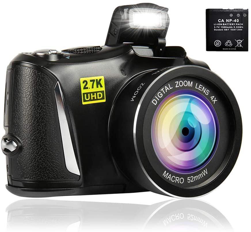 Digital Camera 2.7K Vlogging Camera 48MP