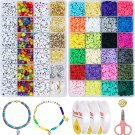 7100 Pcs Clay Beads and Bead Accessories