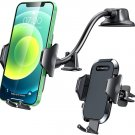 Plating Bendable Long Arm Suction Cup Car Phone