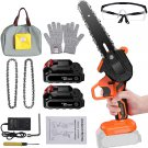 6-Inch Portable Handheld Electic Chain Saw