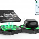 2 pack Detachable Wireless Charger with RGB Lights 15W