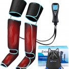 Air-Compression for Circulation and Muscle Pain Relief with Digital Remote
