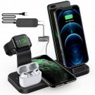 5 in 1 Wireless Charging Station for iPhone Samsung