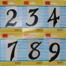 Box of 12 House Numbers