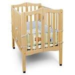 Delta Fold-a-Way Portable Crib, Natural