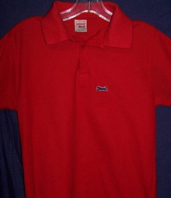1980's le tigre campus polo