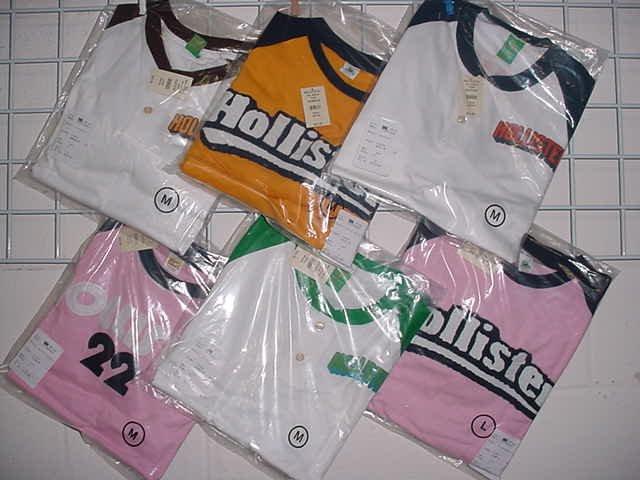 Wholesale Lot of Mens Mixed Hollister Shirts