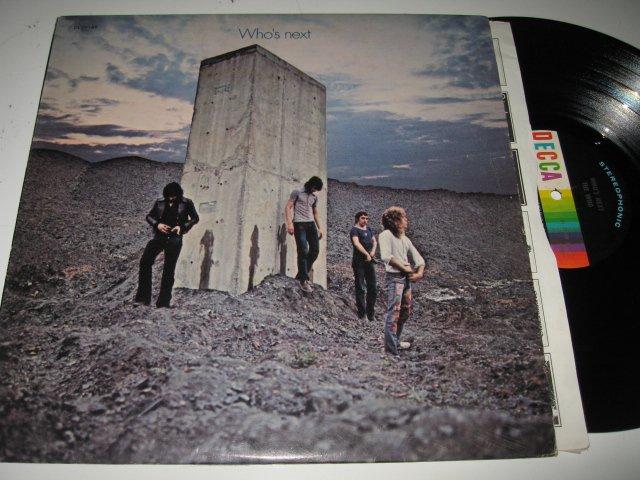 The Who - Who's Next on Decca - Vinyl LP - Excellent - Classic Rock