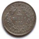 R1 1831 Polish Poland silver coin 2 Zloty Zlote - UPRISING