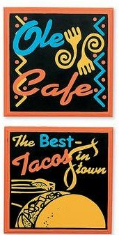 SOUTHWESTERN WALL PLAQUES