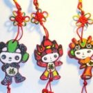 Fortune Olympics Fuwa (Chinese knot ornament)