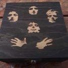Black Queen Bohemium Rhapsody Weed Box Stoner Gift Cannabis 420 engraved stash box