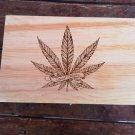 Large medicinal design large Weed Box Stoner Gift Cannabis 420 engraved stash box