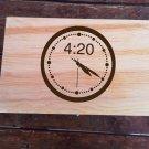 Large 420 design large Weed Box Stoner Gift Cannabis 420 engraved stash box