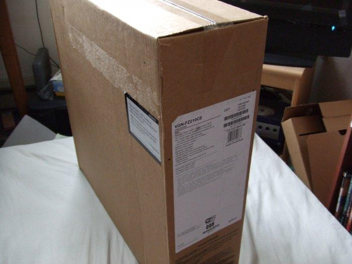 "NEW Sealed Sony VAIO laptop FZ  FZ210C/E T5250 15.4"""