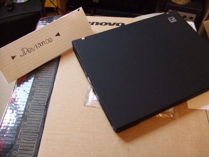 """Lenovo ThinkPad X61 T7500 12.1"""" ultra Light"""