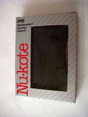 AAdler Nu-Kote Black Correctable Typewriter Ribbon B193