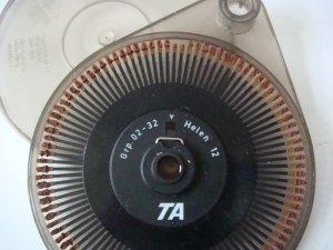 Adler Type Wheel Helen 12 GRP 02-32 in Plastic Case