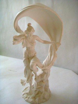 Franklin Mint Fine Porcelain White Justice 1987