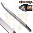 Hadhfang Sword of Arwen with Plaque and Sheath