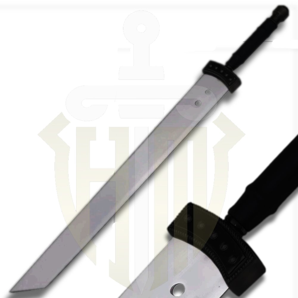 Cloud Buster Sword Mini from Final Fantasy with Stand and Sheath