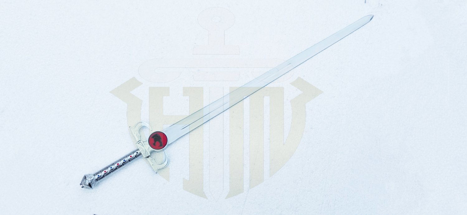 Thundercats Sword of Omen Light Up with Stand and Sheath