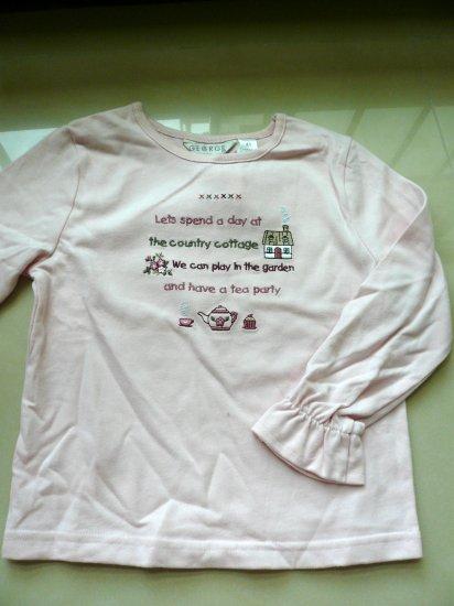 Kids George Long Sleeves Printed Top