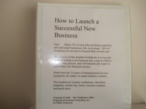 How to launch and grow a winning start-up business workbook