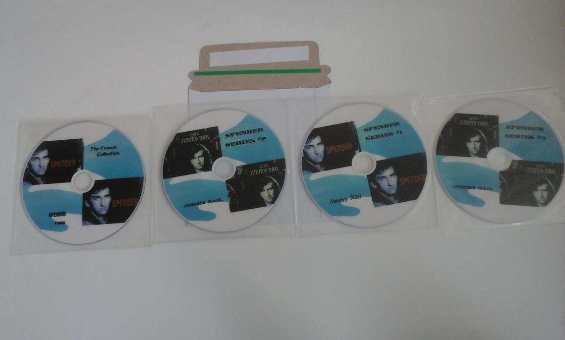 Spender - Jimmy Nail - Series 1 -2- 3 Plus Feature length Special - The French Collection 4 DVD's ..