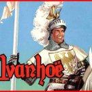 IVANHOE - Roger Moore (1958) TV Series 36 black & white EPISODES on 3 DVDs .