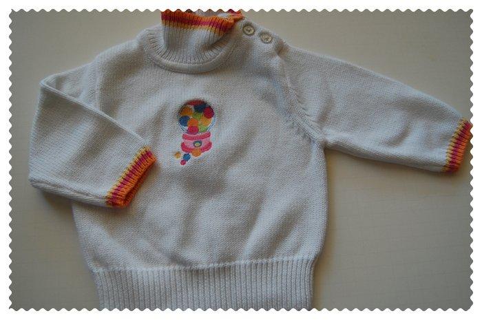 Gymboree Bubble Fun Sweater NWOT size 6-12 months