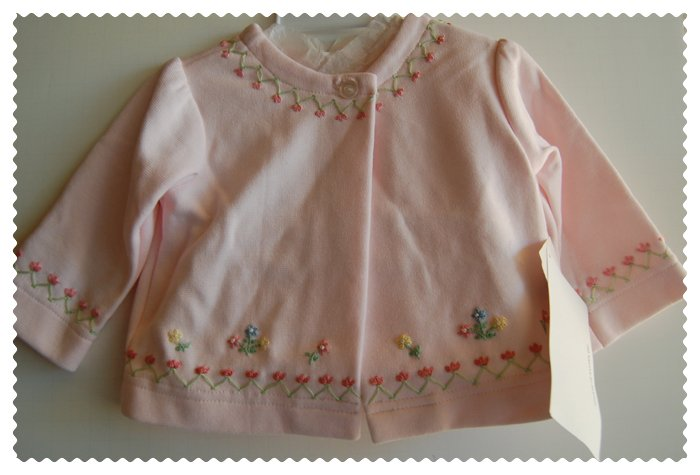 House of Hatten Baby Pink Sweater size 3 monts NWT