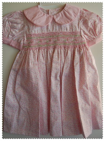 House of Hatten Pink Smock Dress size 18 months NWT