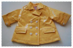 Gymboree Yellow Rain jacket size 3-6 months NWT