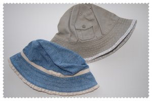 Janie and Jack Baby girl hats 0-6 months NWT