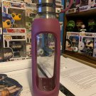 CONTIGO 20 oz. Scuba Purity Glass Water Bottle with Tethered Lid and Silicone
